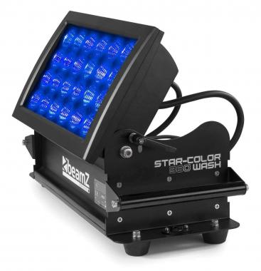 Beamz starcolor360w wash light 24x15w 5in1 rgbwa ip66 dmx