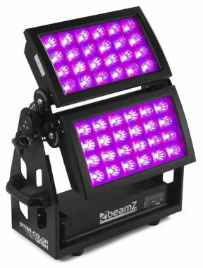 Beamz starcolor720w wash light 48x15w 5in1 rgbwa ip66 dmx