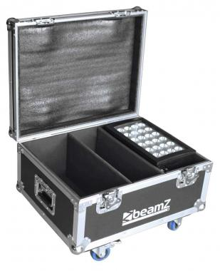 Beamz starcolor fl2 flightcase 2pcs star color240/360w