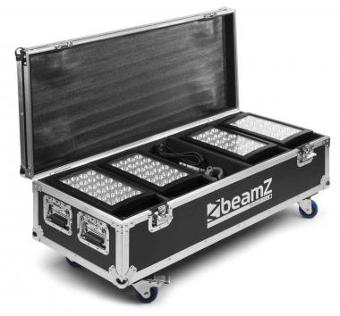 Beamz starcolor fl4 flightcase 4pcs star color240/360w