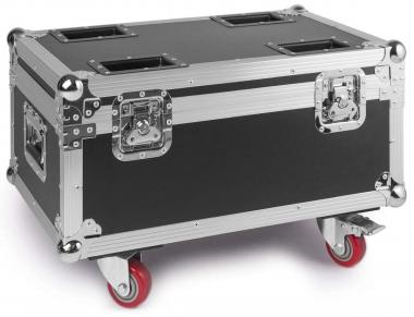 Beamz flightcase for 4pcs led twister