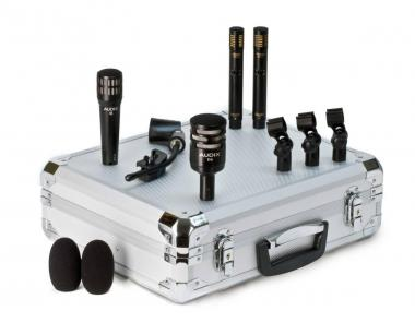 Audix dp-quad set microfoni per batteria