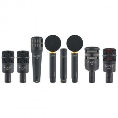 Audix studo elite 8 set microfoni per batteria