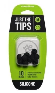 Mackie mp series medium silicone black tips kit