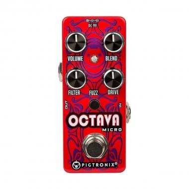 PIGTRONIX Octava Micro - Octaver Fuzz Distortion