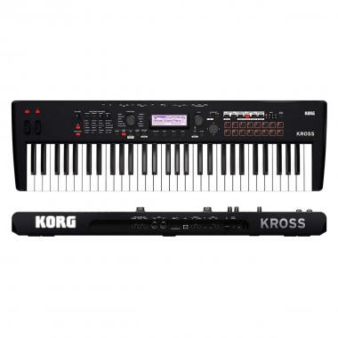 Korg kross2 61 super matte black
