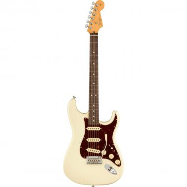 Fender stratocaster american professional ii olympic white