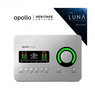UNIVERSAL AUDIO Apollo Solo | Heritage Edition