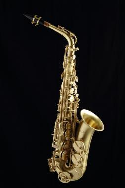Cigalini sax contralto serie smart brushed brass